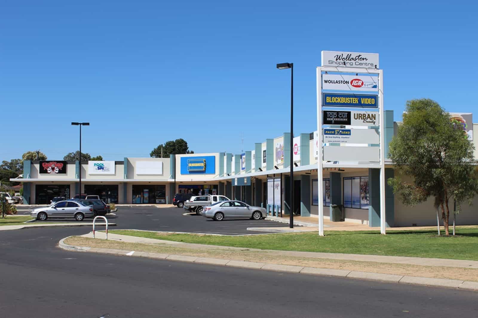 Wollaston Shopping Centre Upgrade