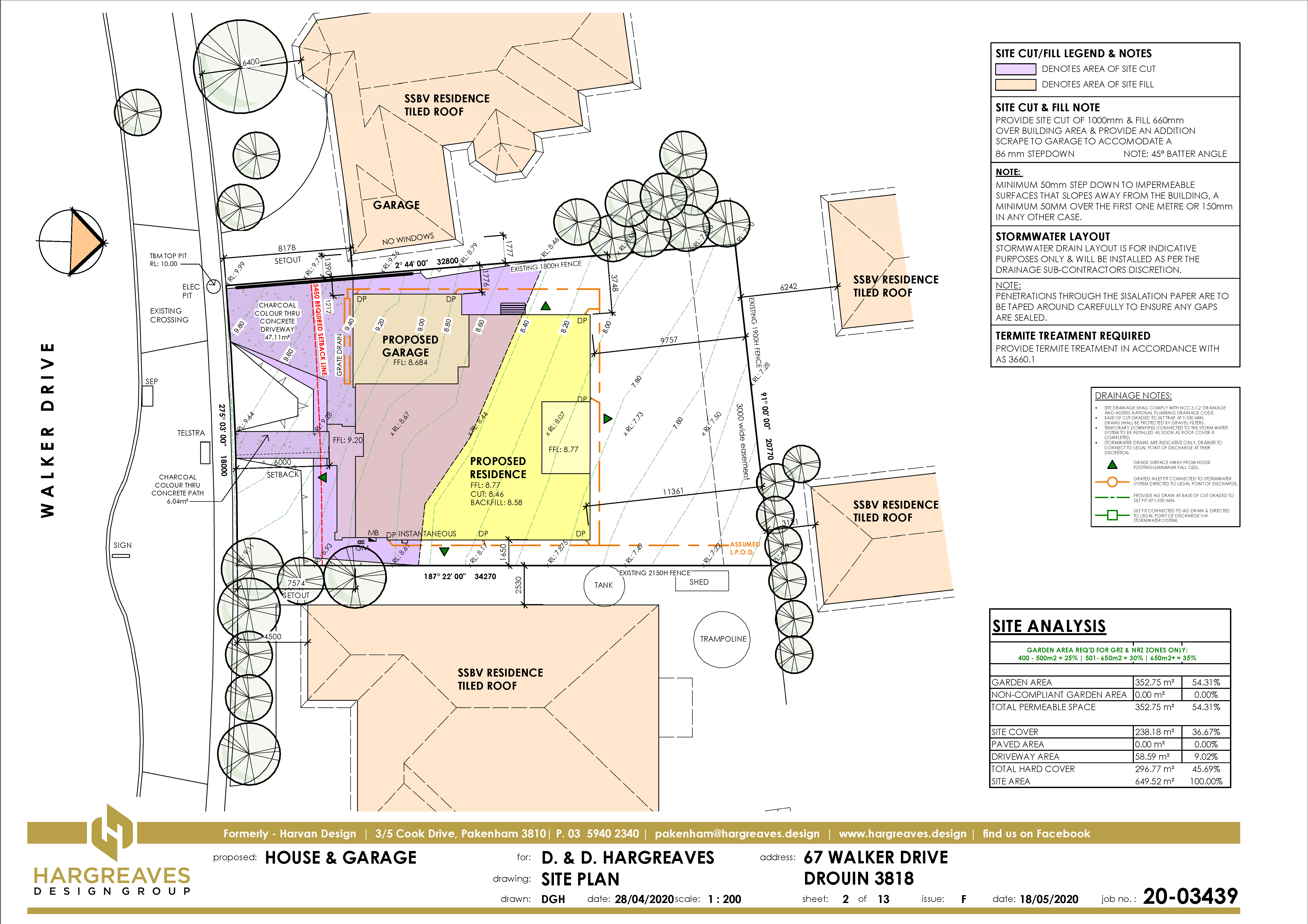 The Site Plan Sheet