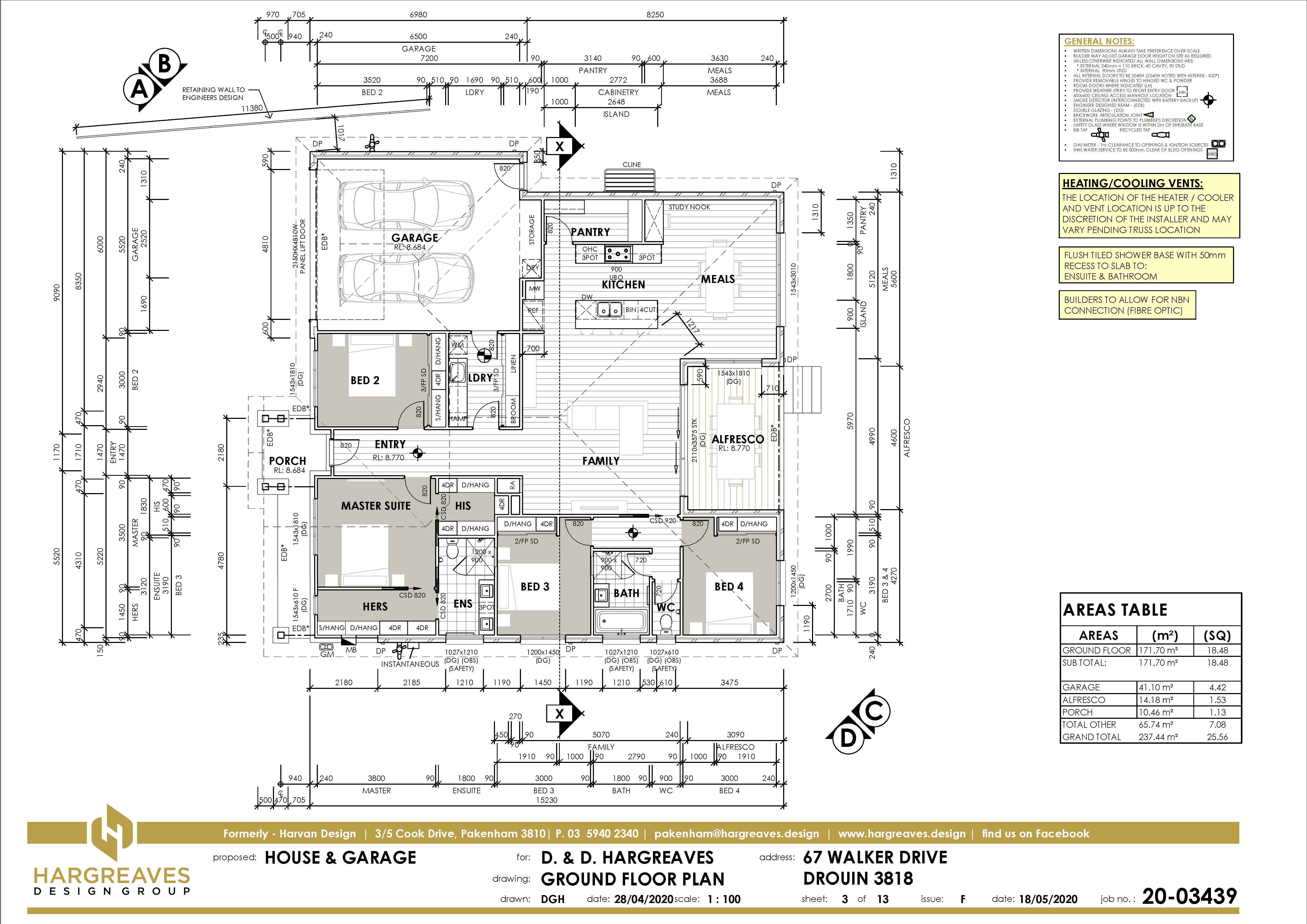 The Floor Plan Sheet