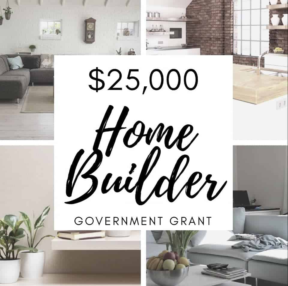 Home Builder Grant Applications Now Open